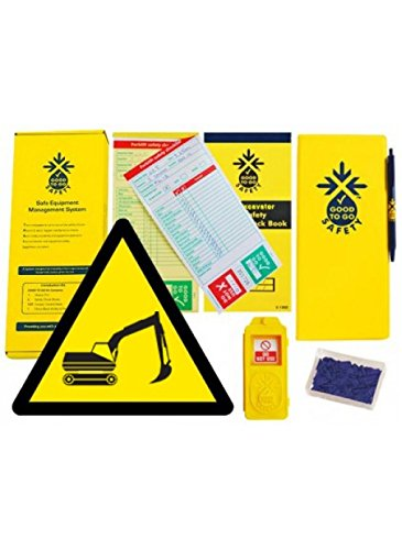 Good to Go Safety 51343 Excavator Weekly Kit, 1 tag, 100 seals, 2 check books and 1 wallet with pen