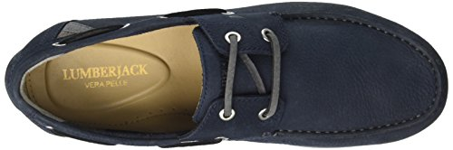 Lumberjack Passo 001d07, Mocassins (loafers) homme Blu (Navy Blue)