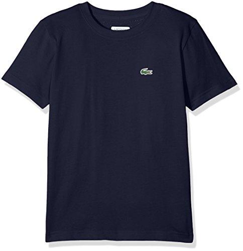 Lacoste Sport Jungen T-Shirt Tj8811, Blau (Marine), 14 Jahre (Herstellergröße: 14A)