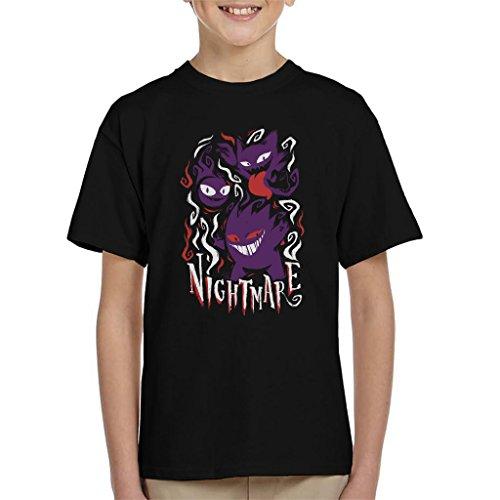 Cloud City 7 Pokemon Nightmare Ghosts Kid's T-Shirt