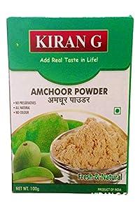 Kiran G - Amchur Powder (100 Grams x Pack of 2) - Real Khatai