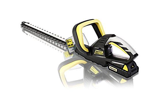 FANZTOOL 20V/2Ah Akku Heckenschere Strauchschere Heckentrimmer, Lasercut Messer INKLUSIV 2Ah Akku und Ladegerät, CE/GS TÜV zertifiziert