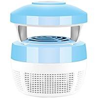 OUNONA 5V respetuoso del medio ambiente LED Mosquito Killer lámpara al aire libre Photocatalyst Mosquito Trap
