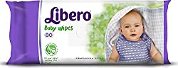 Libero Baby Wet Wipes 80 Pieces, Baby Wipes (Set of 3) - 240Pcs