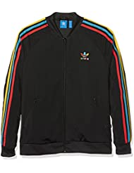adidas Superstar Originals Chaqueta, mujer, Superstar Originals, negro, 40 [DE 38]