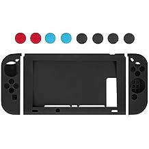 Funda de silicona para Nintendo Switch–Younik carcasa protectiva de silicona suave antiresbalante para Nintendo Switch, no para DS