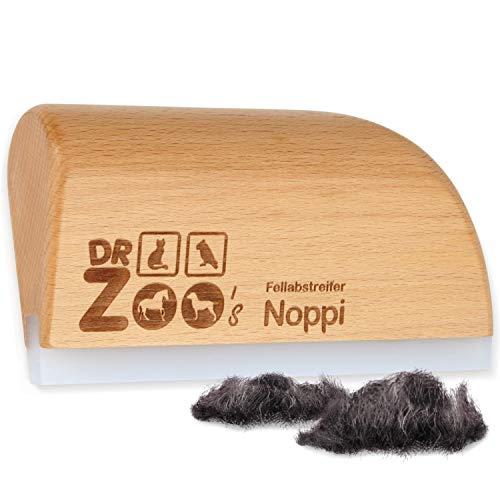 DR Zoo Fellabstreifer Noppi der weiche Fellwechsel-Helfer, als Pferde-Bürste, Striegel oder Zubehör für Dein Pferd