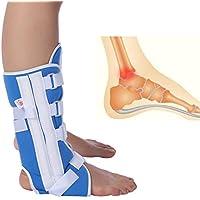 Fuß Tropfen Klammer, Verstellbare Kniegelenkstütze Knöchelriemen Orthese Brace Support Verstauchung Strap Fußstütze(L) preisvergleich bei billige-tabletten.eu