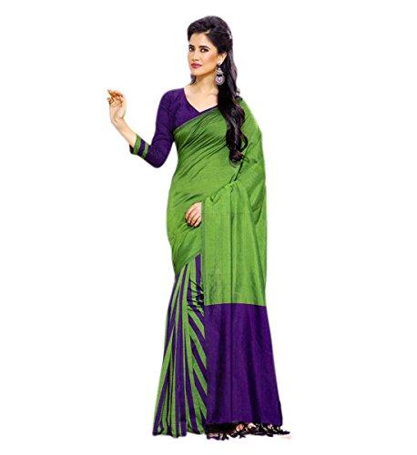 Miraan Cotton Saree with blouse piece Eesha