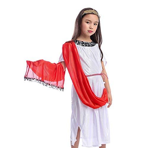 Sexy Kostüm Römische - GUAN Halloween Maskerade Sexy Performance Kostüm Kindergöttin Königin Kostüm