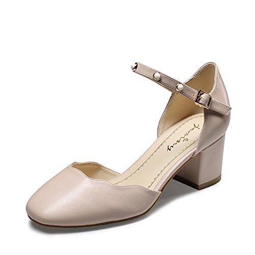 Summer Hundred Sandal/Solid Color Heels B