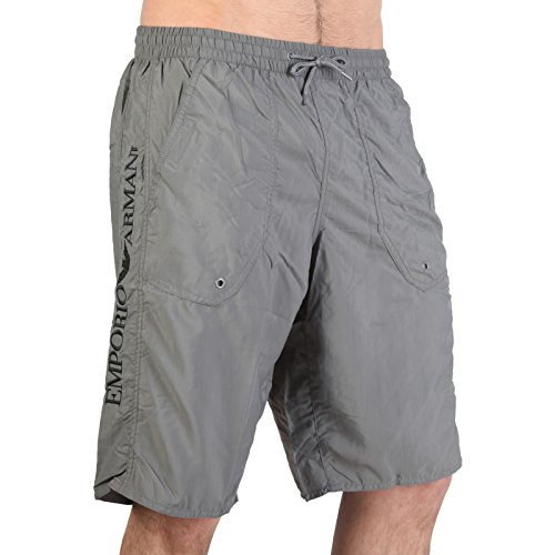 EMPORIO ARMANI Swimwear Bermuda Badeshorts Badehose Grau