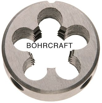 Craft 98601Filière à fileter Acier rapide G DIN EN 22568(223B) MF 8x 0,75perçage dans caisse Unibox avec couvercle, 1pièce, 42021100807