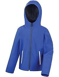 Result Core Kinder Unisex Junior Softshell-Jacke mit Kapuze