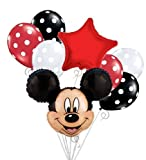 Mickey Mouse Head Balloon Bouquet Set Birthday Baby Shower Party Decoration by DecorationTime by DecorationTime