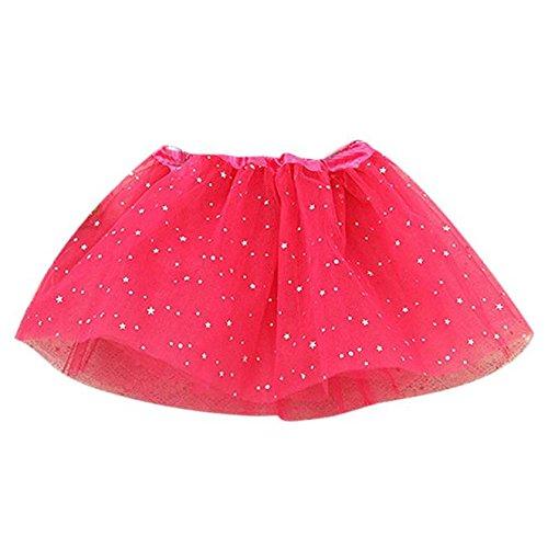 86300ff5b043b Longra Filles Tutu Tulle Bébé Enfants Filles Princesse Etoiles Paillettes  Party Dance Ballet Tutu Jupes Robes