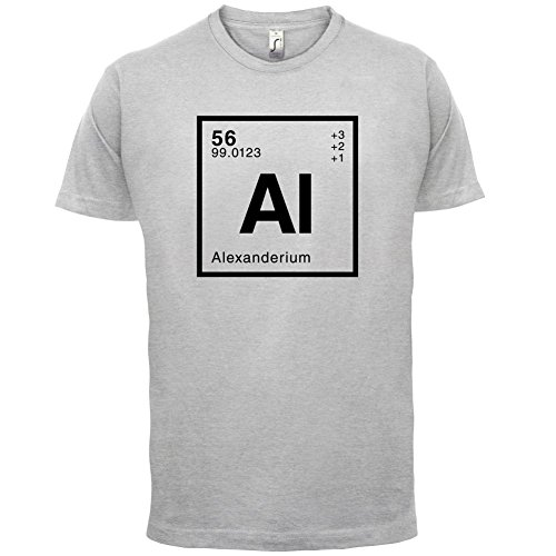 Alexander Periodensystem - Herren T-Shirt - 13 Farben Hellgrau