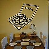 Yssyss Pizza Sticker Food Applique Poster Vinyl Art Wall