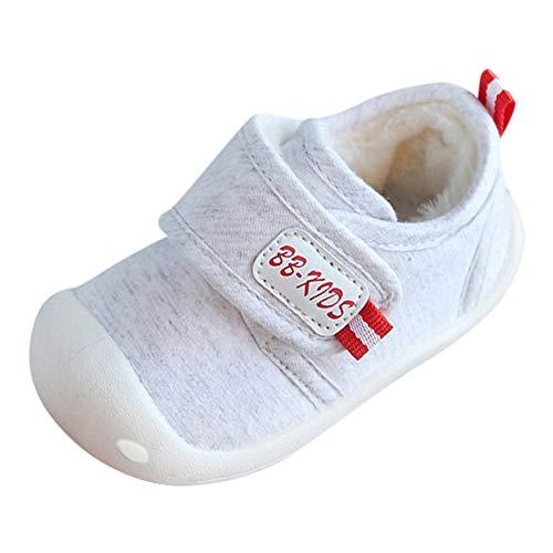 Beikoard Kinder Kleinkind Schuhe Baby-Baumwollschuhe Plus Samtschuhe Innen warme Schuhe für Männer und Frauen Erste warme flaumige Wanderer