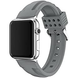 For Apple Watch Strap Band, Fulltime(TM) Fashion Sports Silicone Bracelet Strap Band For Apple Watch Series 2/1 38mm