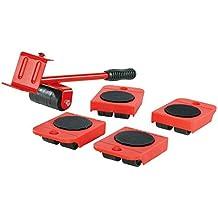 Powerfix Set DE Transporte DE Muebles con Palanca 5 Piezas