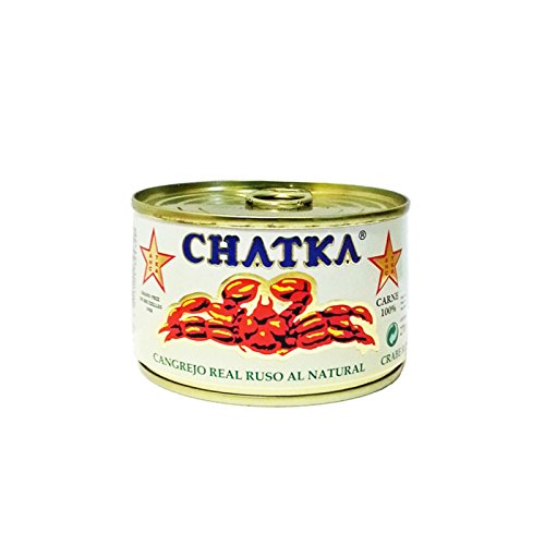 Chatka Cangrejo Real Ruso 100% Carne - 220 gr