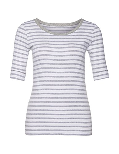 Marc Cain Essentials Marccaindament-Shirts+e4809j91, T-Shirt Femme Grau (grey 820)