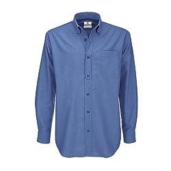 B C Camisa de manga larga...