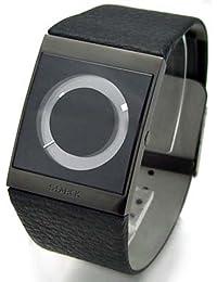 WWW.STADE.FR Philippe Starck PH5001 - Reloj para hombres, correa de cuero