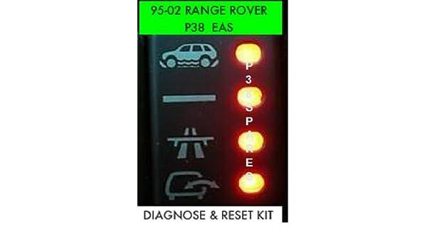 P38 EAS Fault Reset & Diagnostic OBDII: Amazon co uk: Car