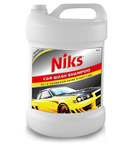Niks Car Wash Shampoo - 5 Ltr. With extra Thickness Formula
