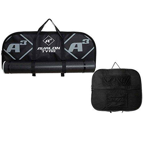 AVALON Tyro A³ - Bogentasche mit Pfeilröhre Schwarz