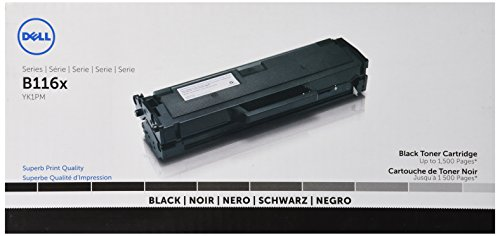 Toner-kit (Original Dell B1160/1160w/1165nfw Standard Capacity Black Toner - Kit ca. 1.500 Seiten)