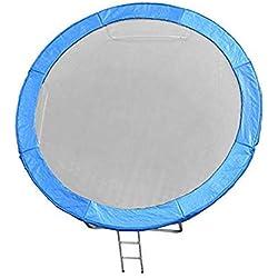 JUMP4FUN Coussin Universel de Rembourrage en Polyethylene pour Trampoline 6FT - 185cm - Bleu