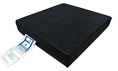 "Startextile Mobility Fitted Wheelchair Cushion Seat Pad Pressure Relief Chair 16"" x 16"" x 2"""