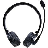 Bluetooth Headset,YAMAY Wireless Headset Over the Head mit Mikrofon,Noise Cancelling Stereo Bluetooth Kopfhörer Faltbare drahtlose Kopfhörer HandsFree für iPhone und Android Handy Computer Laptop PC
