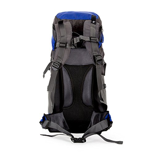 Sacchetto Di Spalla Professionale Da Escursione All'aperto Sacchetto Di Alpinismo Di Grande Capacità Del Sacchetto Dello Zaino Di Corsa Del Team,Red Black