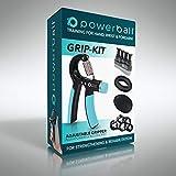 Power Gripper Attrezzatura per Resistenza alla Presa - 5-50 kg Regolabili Impugnatura - Rinforzo del Polso e dell'Avambraccio