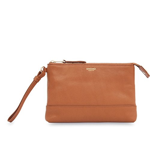 knomo-luxury-womens-leather-clutch-evening-handbag-purse-tan-with-phone-charger