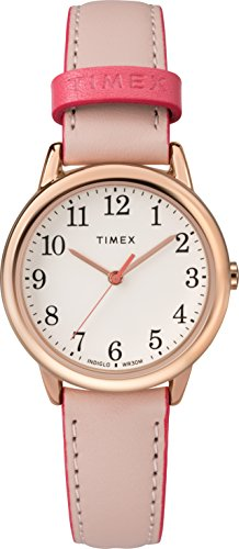 Timex Mixte Adulte Analogique Automatique Montre avec Bracelet en Cuir TW2R62800