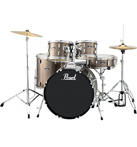 Pearl Roadshow Rock Drum Set 22 Inch x5 Barrels – Metallic Bronze