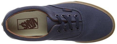 Vans U ERA Unisex-Erwachsene Sneakers Blau ((Gumsole) blue nights/medium gum)