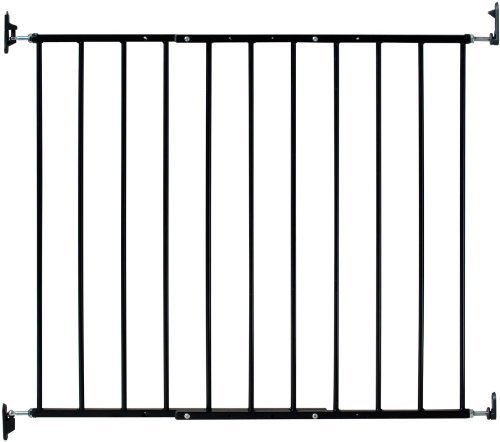 kidco-safeway-gate-top-of-stairs-gate-black-with-stairway-installation-kit-by-kidco