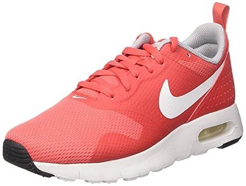 Nike Kinder und Jugendliche Air Max Tavas Gs Laufschuhe, Rot (Track Red/White/Wolf Grey/Black), 38.5