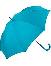 Fare - Parapluie standard 105 cm poignée canne - 1115 - BLEU PETROLE - WINDPROOF - ouverture automatique
