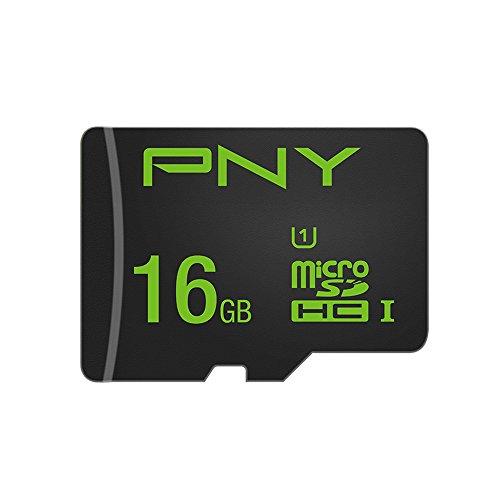 PNY Micro SDXC High Performance Speicherkarte 16GB Class 10 UHS-1 U1 (Sd-karte 16gb Pny)