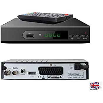 Teknikal HD Freeview Set Top Box Receiver Plus Recorder for
