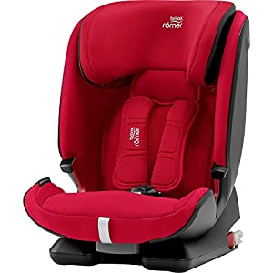 Britax Römer ADVANSAFIX IV M Group 1-2-3 (9-36KG) Car Seat- Fire Red   5