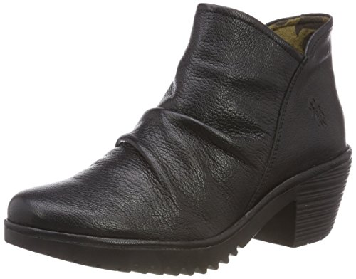 ce197247746 FLY London Womens WEZO890Fly Black Mousse Boot - 38