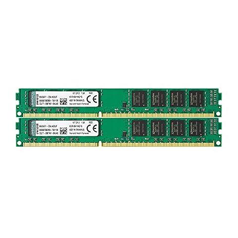 Kingston KVR16N11K2/16 Arbeitsspeicher 16GB (DDR3 Non-ECC CL11 DIMM Kit, 240-pin, 1.5V) (3 Modul Kit)